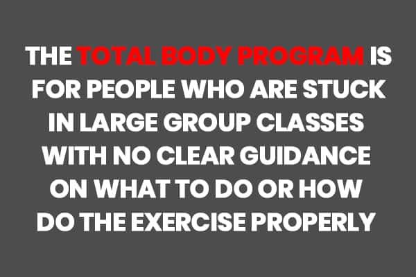 The Total Body Program